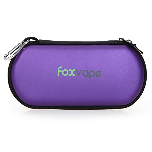 Foxvape Ego Travel Carry Vape Case Bag Large for Vape pen Kit, Ego Battery, Power Bank, Sigelei, Aspire, Stick, Eleaf, Wismec (Purple) (X Pen Pro Vaporizer compare prices)