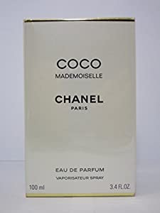 [Paris fragrance] Coco Mademoiselle Eau De Parfum Spray 3.4 fl oz/100ml - Brand New Sealed