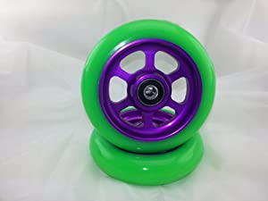 Metal Core 110mm Pro Scooter 2 Wheels with Abec 11 Bearings Installed Razor #gpp2... by UScoot