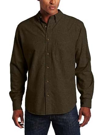 Woolrich Men's Sportsman Chamois Shirt at Amazon Men's ...