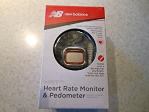 New Balance Heart Rate Monitor & Pedometer