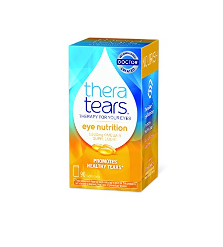 TheraTears Eye Nutrition- 90 CT- Omega 3 Supplement (Flax Omega 3 Supplements compare prices)