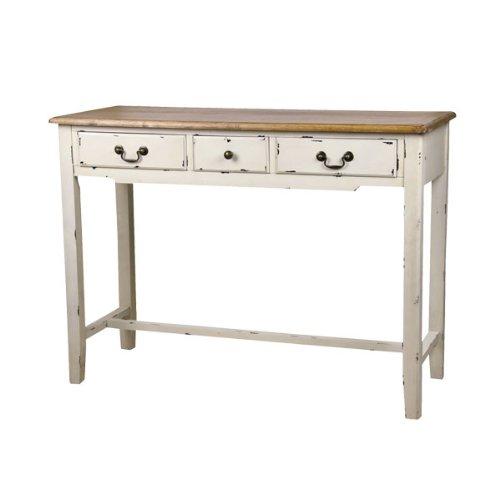 コンソールテーブル 木製 シャビー フレンチアンティーク調 ブロッサム コンソール COL-016