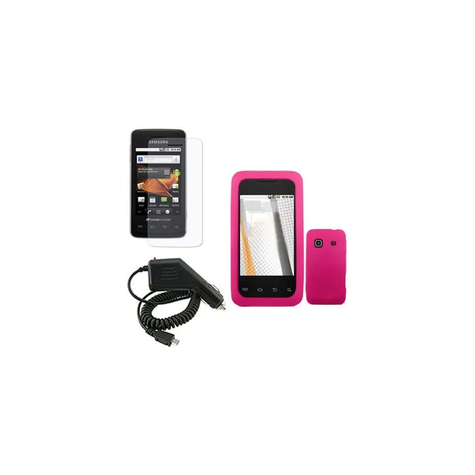 iNcido Brand Samsung Prevail M820 Combo Solid Hot Pink
