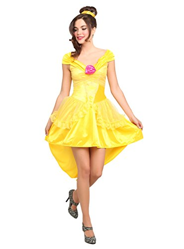 Disney Beauty And The Beast Enchanting Belle Costume by Leg Avenue