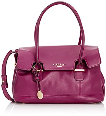 Fiorelli Womens Olivia Jade Shoulder Bag Rasberry