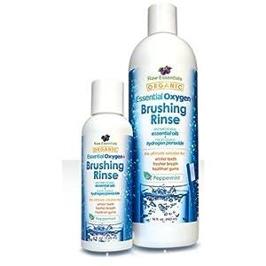 Essential Oxygen Bundle - Brushing Rinse 16 and 4 oz Bottles