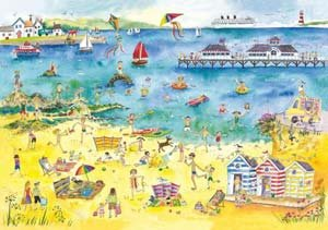 Seaside Wooden (250pc) Jigsaw Puzzle by Wentworth Wooden Jigsaw Puzzles