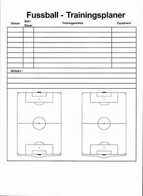 Ersatz-Arbeitsblock für b+d Coach-Board Basic (Fußball)