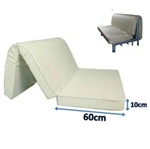 materasso per divano letto 160x190 prontoletto con piega