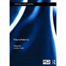 Front cover of Neurorhetorics, which features the title on a blue cover.