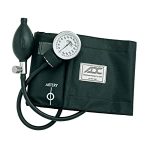Click to buy Healthy Blood Pressure: ADC Aneroid Sphygmomanometer Blood Pressure Cuff from Amazon!