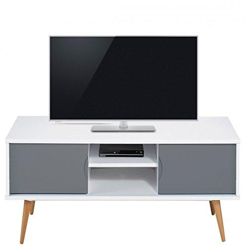 effettivo Diffusion 9314BG vintage mobile TV con 2ante/4piedi 40x 120x 50cm