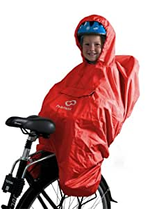 Amazon.com : Hamax Protection Pluie Poncho mixte enfant Rouge Taille