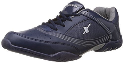 Sparx-Mens-Navy-Blue-and-White-Running-Shoes-7-UK-SM-186