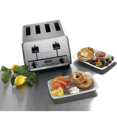 Four-Compartment Standard Pop-Up Toaster - Waring Wct805 front-608082