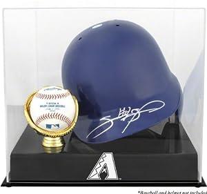 Arizona Diamondbacks 2007 Batting Helmet with Ball Logo Case by Mounted Memories