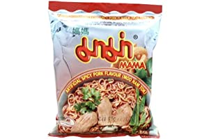 MAMA Spicy Pork Flavor Intant Noodle (Moo Nam Tok) - 1.9oz (pack of 30) by MAMA