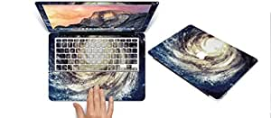 """TTOTT -ABCE SERIES OF New Fashion AIR 11-inch Rubberized Hard Skin Paper Sticker for Apple MacBook Air 11.6"""" -- starry night 5"""