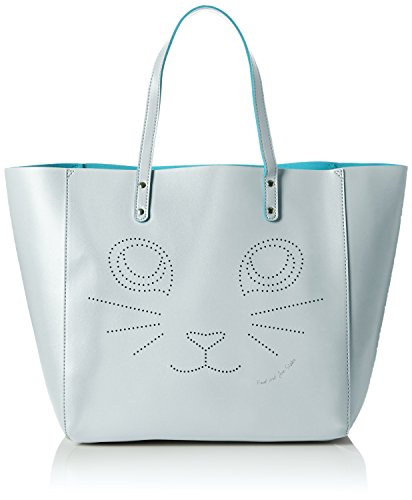 Paul & Joe SisterShopping Bag - Borsa shopper Donna , Blu (Blau (032)), 33x50x20 cm (B x H x T)