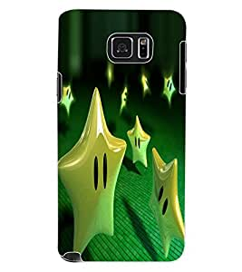 ColourCraft Funny Star Design Back Case Cover for SAMSUNG GALAXY NOTE 5