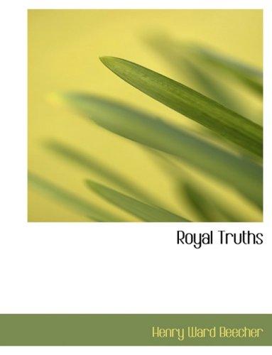 Royal Truths (Large Print Edition)