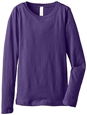 Clementine Big Girls' Everyday Long-Sleeve T-Shirt