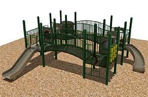 Quad Deck Playground System