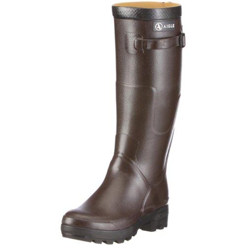 Aigle Benyl M 85789, Stivali di gomma unisex adulto, Marrone (Braun/brun), 43