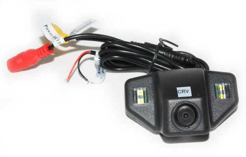 Koolertron® Car Reverse Rearview CMOS Camera NTSC for Honda CRV / New Fit (2 carriage) + Guard Line / waterproof & night vision