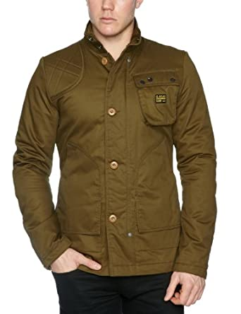 G-Star Raw Men's Twelve Gauge Jacket, Wild Olive, Small