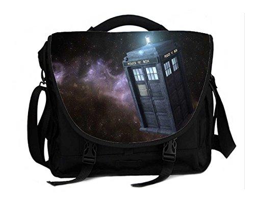 Doctor Who Tardis Print 15 inch Notebook/Laptop and Tablet Bag Messenger Shoulder bag