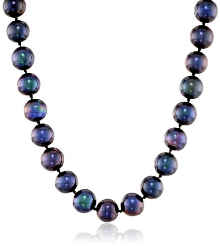 Colored Freshwater Cultured A Quality 8.5-9mm Pearl Necklace