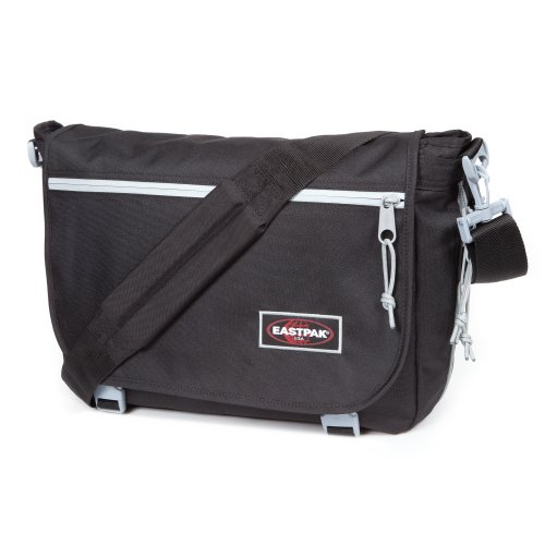 Eastpak Unisex-Adult Delegate Messenger Bag EK07636G Blackout Silver