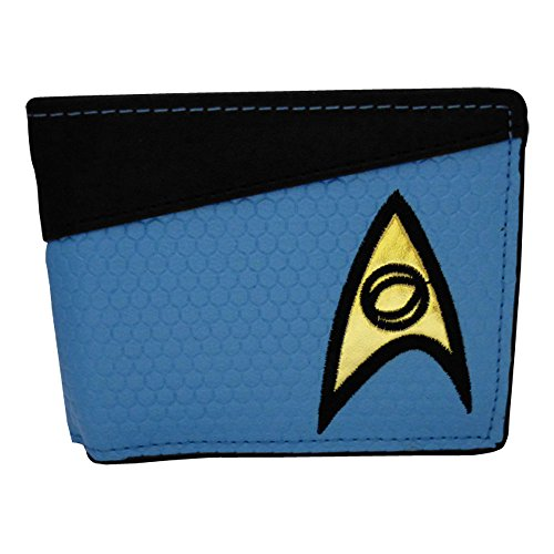 Star Trek Science Logo Portafoglio, Blu