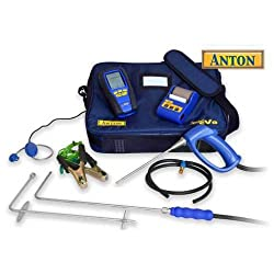 Anton Sprint eVo 2 flue gas analyser kit 3 + printer, leak detector, CO probe set & cal cert by Anton Industrial Services