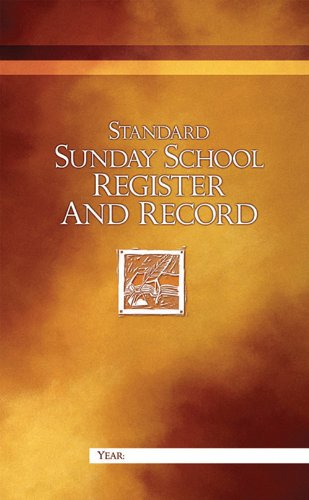 Standard Sunday School Register and Record (Standard Sunday School Register compare prices)