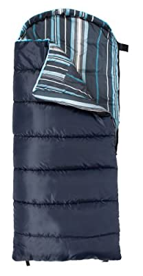 "TETON Sports Celsius Junior -7 Degree C / +20 Degree F Flannel Lined Sleeping Bag (66""x 26"")"