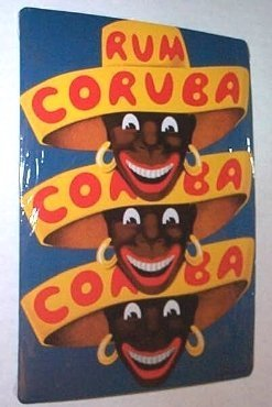 french-advertising-sign-rum-coruba-tiki-bar-liquor-by-cartexpo