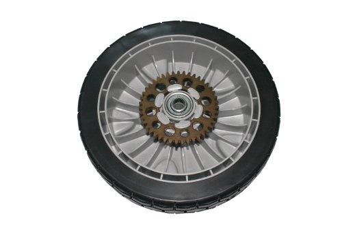 "Genuine Oem Honda Part - Gray 9"" Rear Wheel Lawn Mower - 42710-Vh7-000, 42710-Vh7-000Za, 42710-Vh7-010Za"