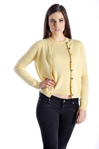 Women Cardigan Twin Set Cashmere Sweater