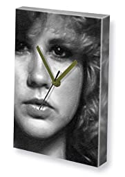 LINDA BLAIR - Canvas Clock (LARGE A3 - Signed by the Artist) #js001