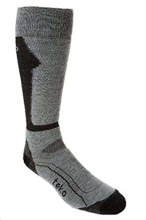 Buy Teko Mens tekoMERINO Ski Medium Sock by Teko