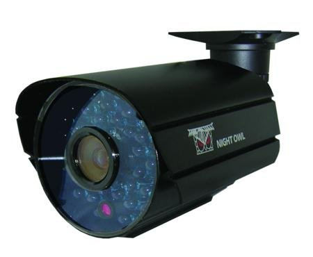 Cmos Bullet Camera D/N Ircut 600Tvl 6Mm 36Leds With White Earbud Headphones