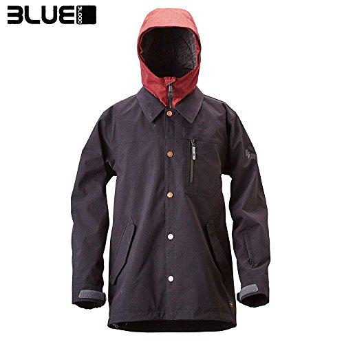 BLUE BLOOD ブルーブラッド LAYERED COVERALL JKT RV BL1511 スノーボード ウェア ユニ(RV(レーブン)/XS)