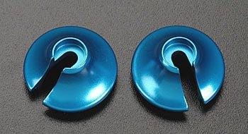 Aluminum Spring Retainers, Blue (2): Revo,3.3