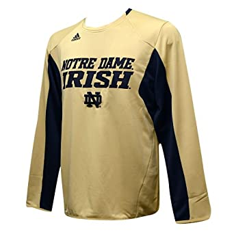 Notre Dame Fighting Irish Adidas 2013 Spring Game Football Sideline Climalite Long... by adidas
