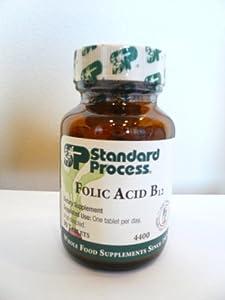 Standard Process FOLIC ACID B12 90 Tablets