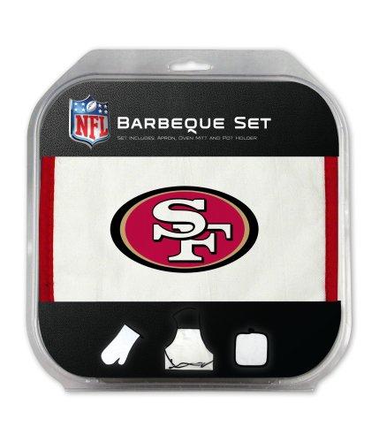 San Francisco 49ers Grilling Apron Set