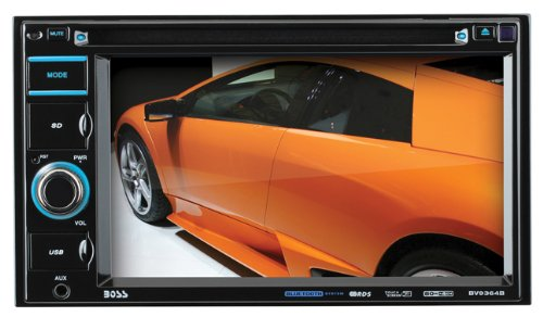 BOSS AUDIO BV9364B Double-DIN 6.2 inch Touchscreen DVD Player Receiver, Bluetooth, Wireless Remote (Car Stereo Touch Screen compare prices)